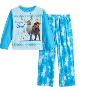 NWT Disney Frozen II 2-PC Boy's Pajama Sleep Set